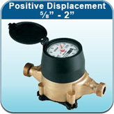 """Positive Displacement - ⅝"""" - 2"""" (Cold Water Meters)"""