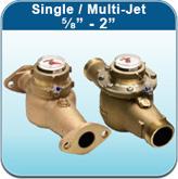 """Single / Multi-Jet ⅝"""" - 2"""" (Cold Water Meters)"""