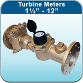 """Turbine Meters 1½"""" - 12"""" (Cold Water Meters)"""