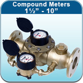 """Compound Meters 1½"""" - 10"""" (Cold Water Meters)"""