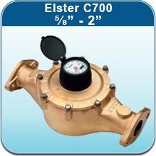 Elster C700 Cold Water Meter