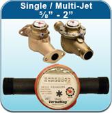 """Single / Multi-Jet ⅝"""" - 2"""" (Hot Water Meters)"""