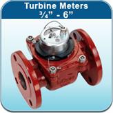 """Turbine Meters ¾"""" - 6"""" (Hot Water Meters)"""