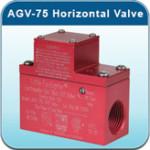 AGV-75 Horizontal Earthquake Valve Little Firefighter