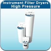 Instrument Filter Dryers - High Pressure