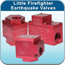 Little Firefighter Earthquake Valves
