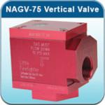 NAGV-75 Vertical Earthquake Valve Little Firefighter
