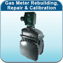 Gas Meter Rebuilding, Repair & Calibration