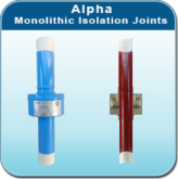 Monolithic isolaton joints
