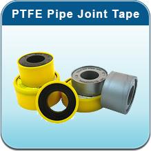 Gas PTFE (Polytetrafluoroethylene) Yellow and Silver Thread Tape