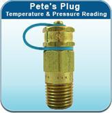 Pete's Plug Temperature & Pressure Reading