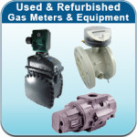 Used and Refurbished gas meters and equipment