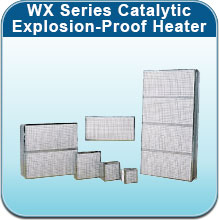 WX Series Catalytic Explosion-Proof Heater