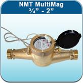 """Hot Water Meters: NMT MultiMag 3/4"""" - 2"""""""