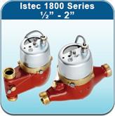 """Hot Water Meters: Istec 1800 Series 1/2"""" - 2"""""""