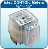 "Oil/Fuel/Chemical Meters: Istec CONTOIL Meters 1/8"" - 1/4"""
