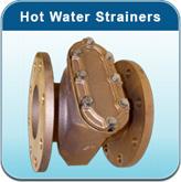 Hot Water Meters: Hot Water Strainers