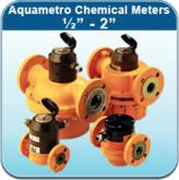 """Oil/Fuel/Chemical Meters: Aquametro Chemical Meters 1/2"""" - 2"""""""