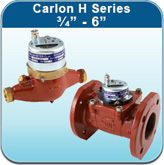 """Hot Water Meters: Carlon H Series 3/4"""" - 6"""""""