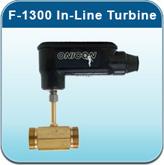 Hot Water Meters: F-1300 In-Line Turbine