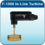 Cold Water Meters: F-1300 In-Line Turbine