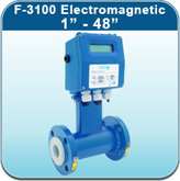 """Cold Water Meters: F-3100 Electromagnetic 1"""" - 48"""""""