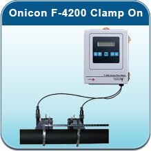 Cold Water Meters: Onicon F-4200 Clamp On