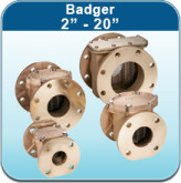 "Strainers: Badger 2"" - 20"""