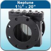 """Strainers: Neptune 1 1/2"""" - 20"""""""