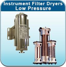 Instrument Filter Dryers - Low Pressure