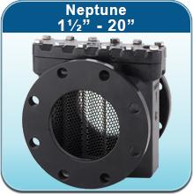 """Water Strainers: Neptune 1½"""" - 20"""""""