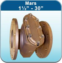 "Water Strainers: Mars 1½"" - 30"""